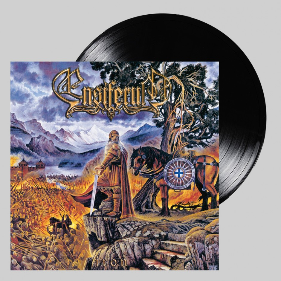 "Ensiferum ""Iron"" 2xLP REPRESS"