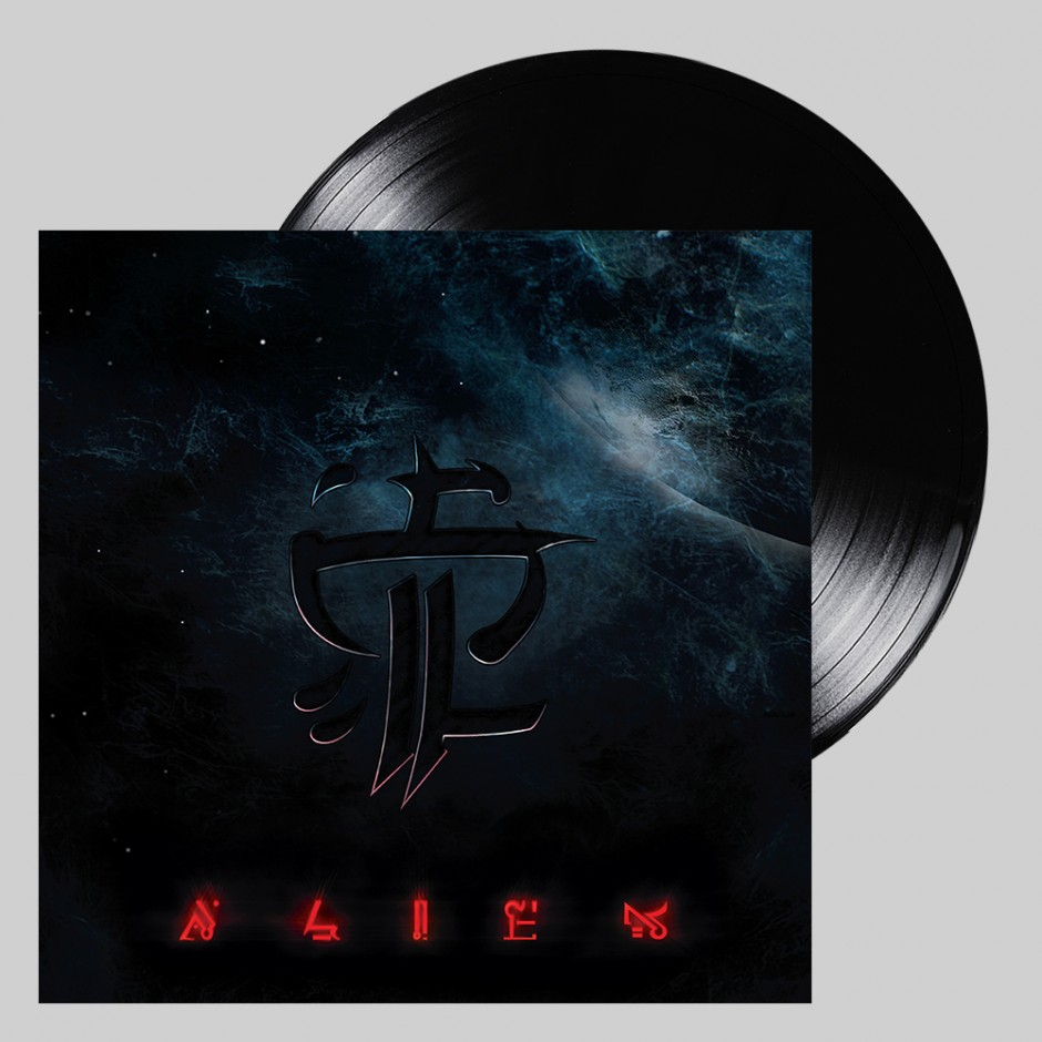 """Strapping Young Lad """"Alien"""" BLACK 2xLP REPRESS"""