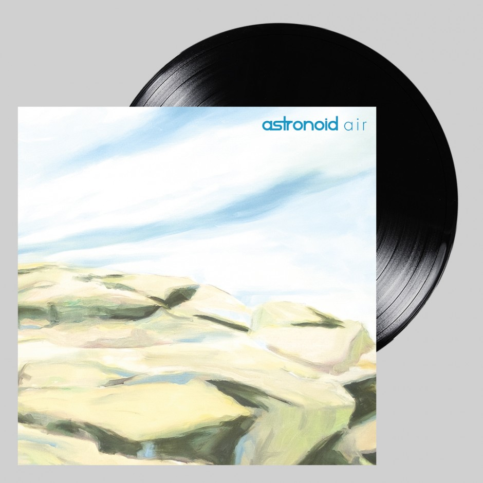"Astronoid ""Air"" LP REPRESS"