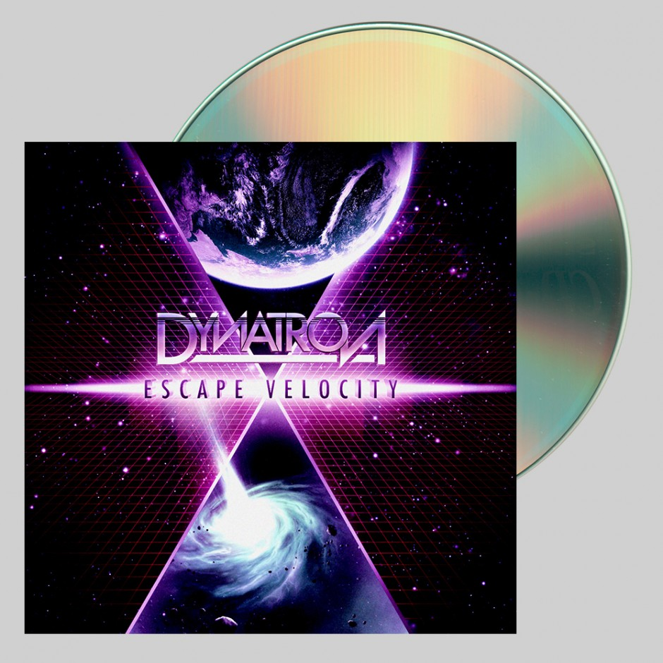 "Dynatron ""Escape Velocity"" CD"