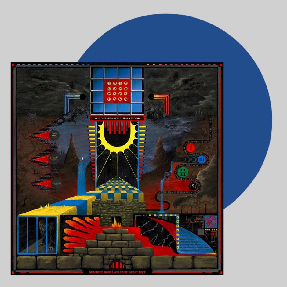 "King Gizzard & The Lizard Wizard ""Polygondwanaland"" LP"