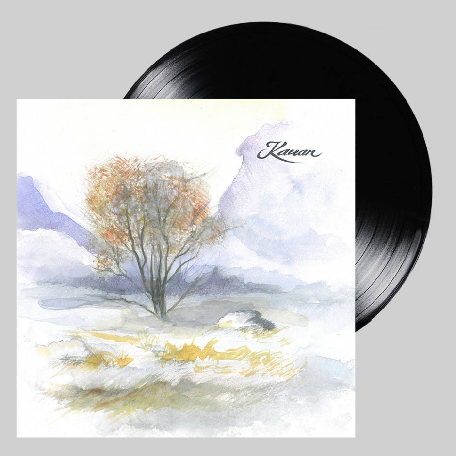 "Kauan ""Lumikuuro"" BLACK LP"