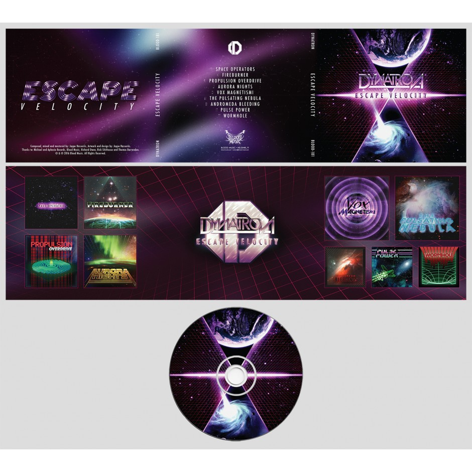"""Dynatron """"Escape Velocity"""" CD"""