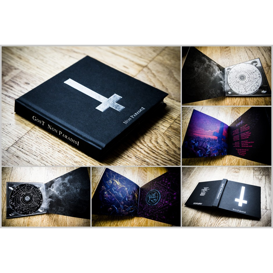 "GosT ""Non Paradisi"" 2xCD Book"