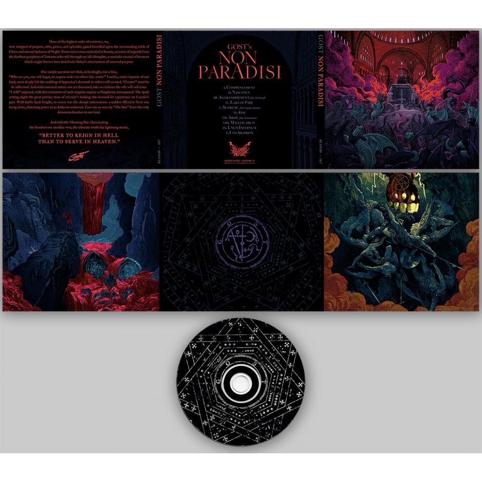 "GosT ""Non Paradisi"" CD"