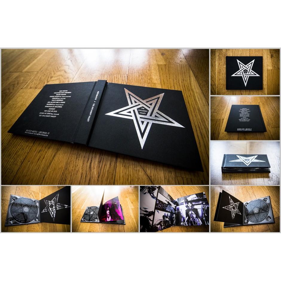 "Perturbator ""The Uncanny Valley"" 2xCD Book"