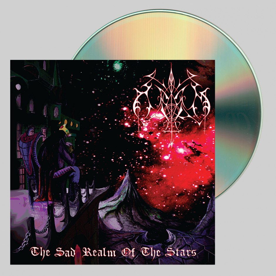 "Odium ""The Sad Realm of the Stars"" CD"