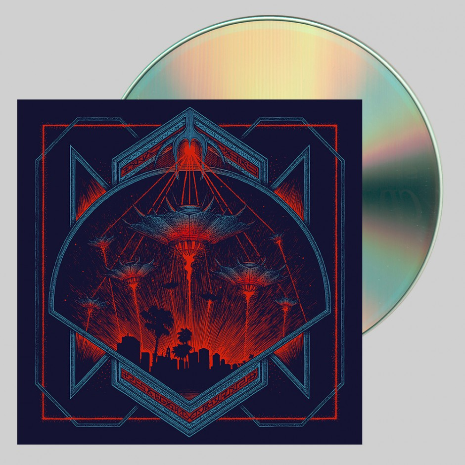 "Hollywood Burns ""Invaders"" CD"