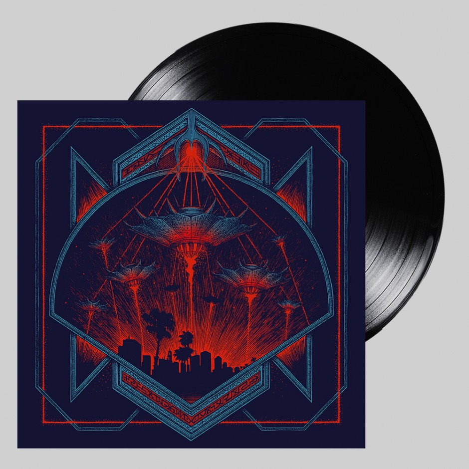"Hollywood Burns ""Invaders"" LP"