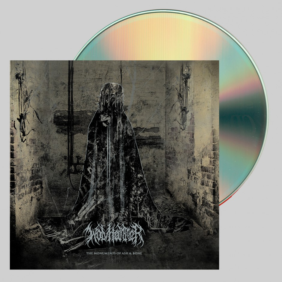 """Wolvhammer """"The Monuments of Ash & Bone"""" CD"""