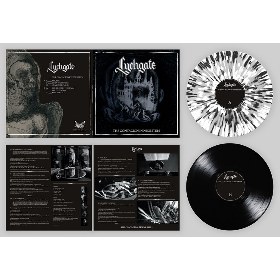 "Lychgate ""The Contagion In Nine Steps"" LP"