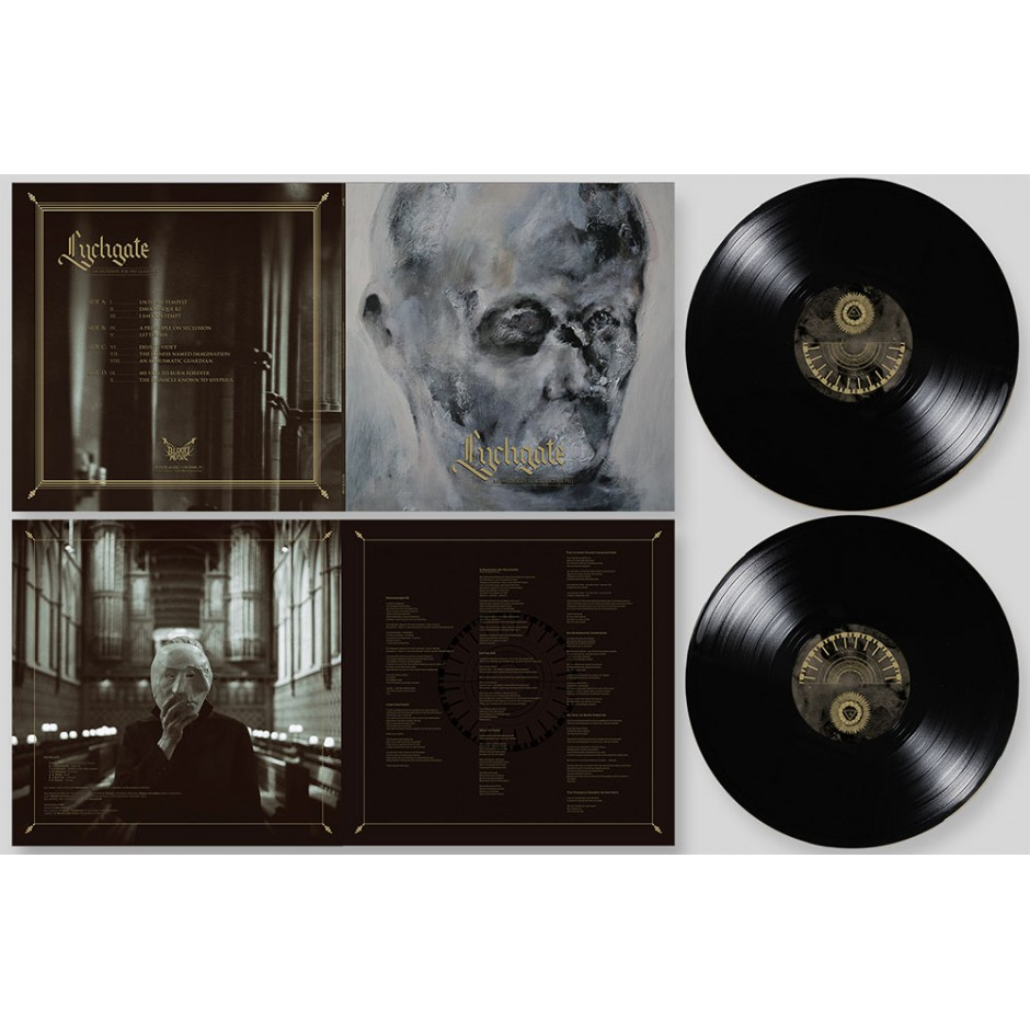 "Lychgate ""An Antidote for the Glass Pill"" BLACK 2xLP"