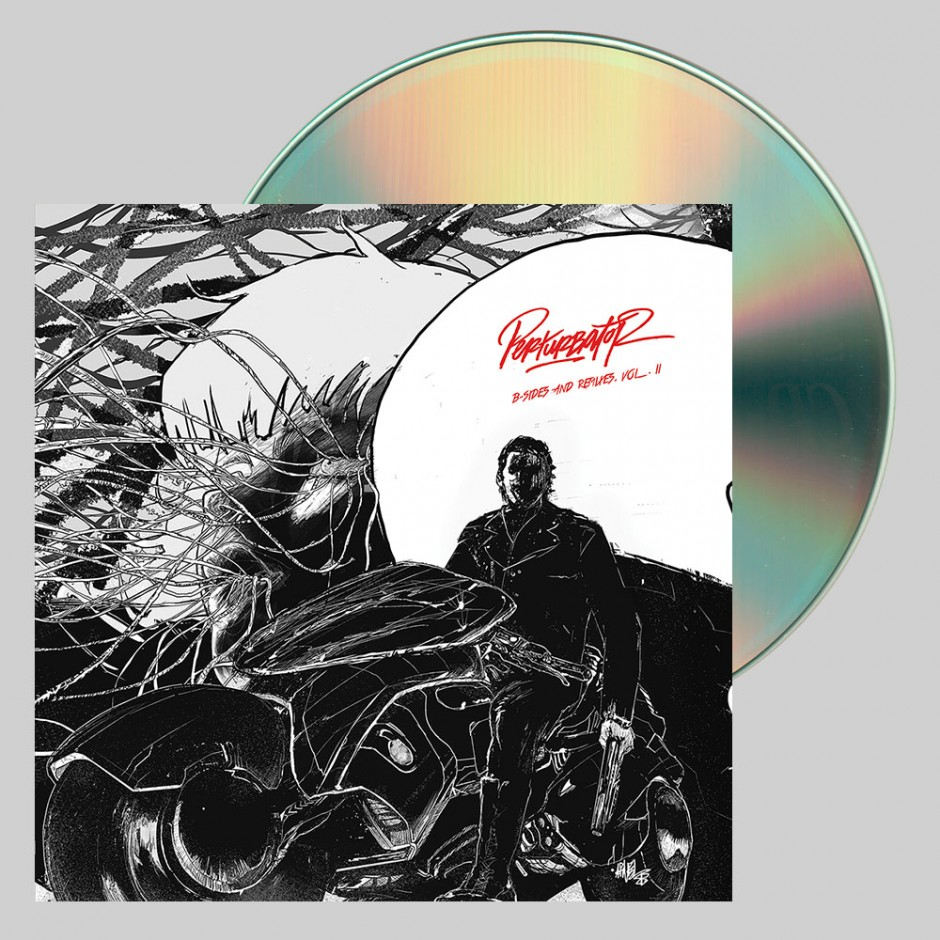 "Perturbator ""B-Sides and Remixes, Vol. II"" CD"