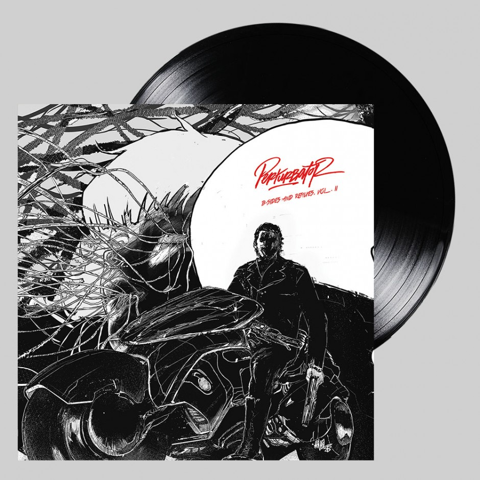 "Perturbator ""B-sides and Remixes, Vol. II"" 2xLP"