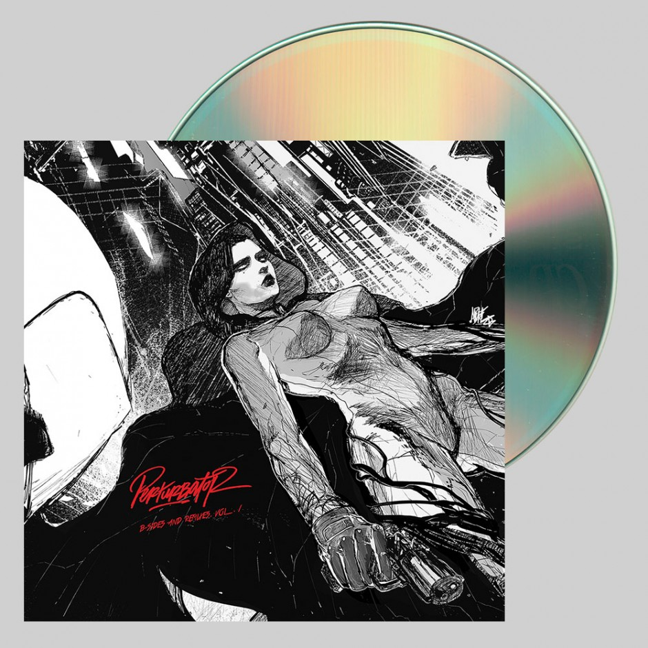 "Perturbator ""B-Sides and Remixes, Vol. I"" CD"