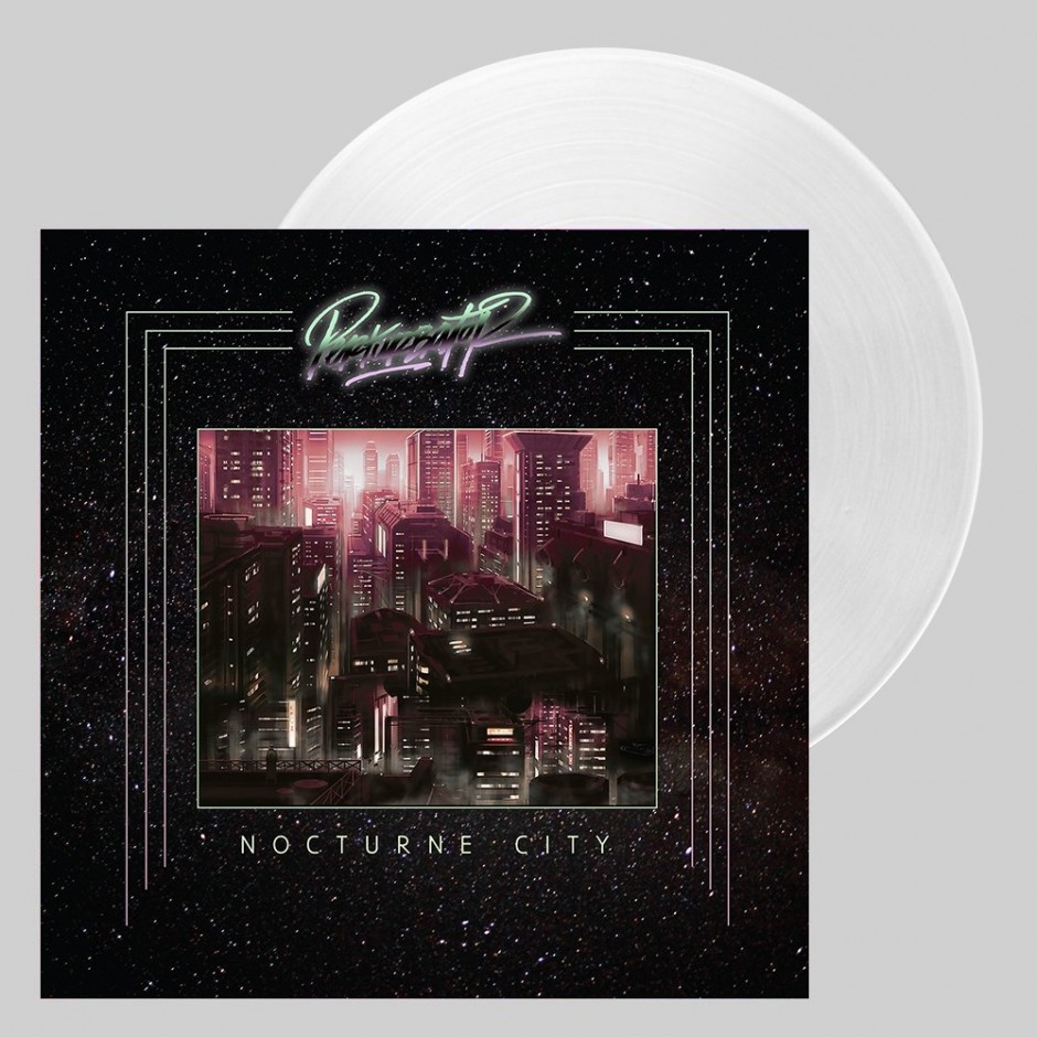 "Perturbator ""Nocturne City"" LP - Gig-exclusive Clear"