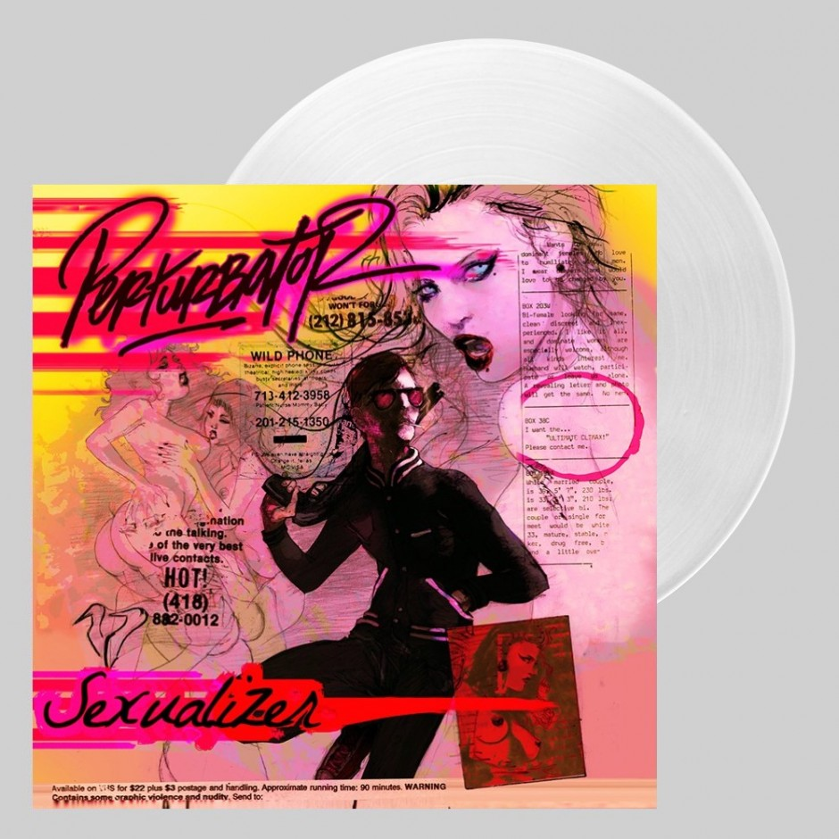 "Perturbator ""Sexualizer"" LP - Gig-exclusive Clear"