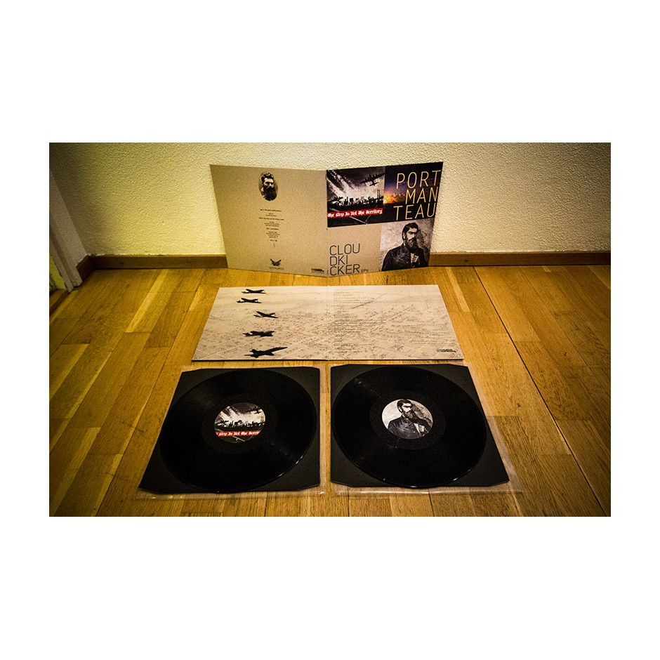 "Cloudkicker ""EPs"" 2xLP - Black, First Pressing"
