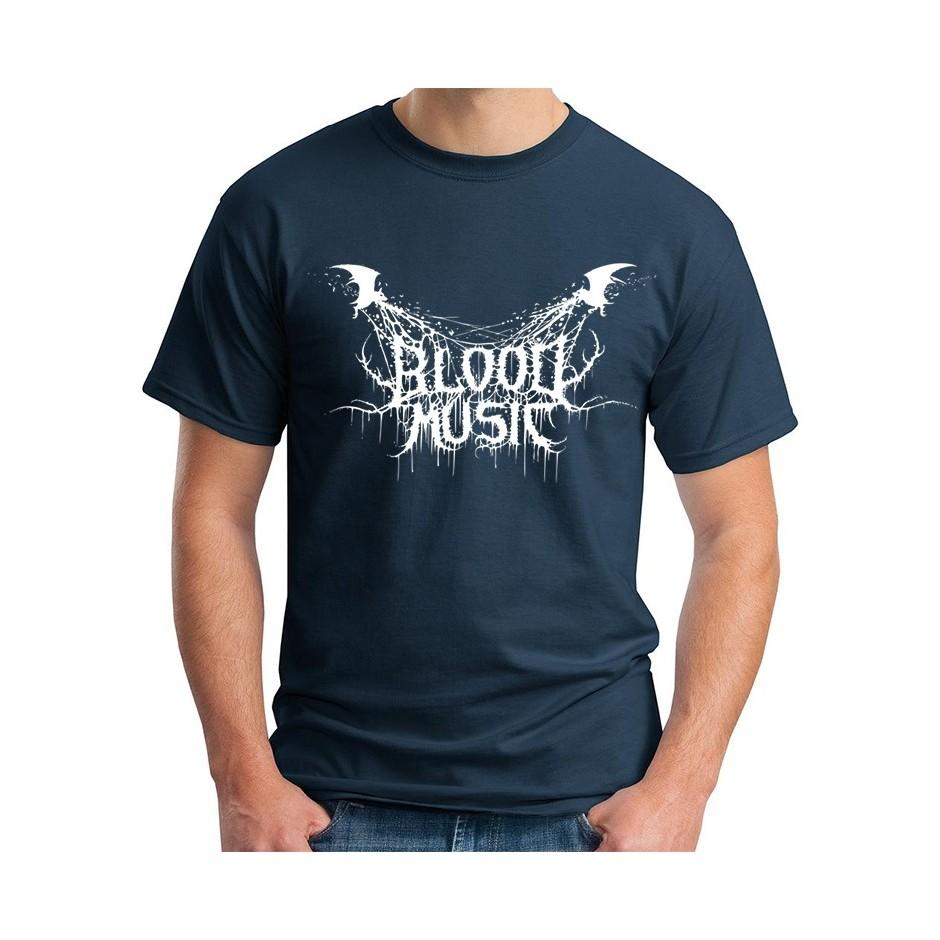 Blood Music 2015 Shirt Blue