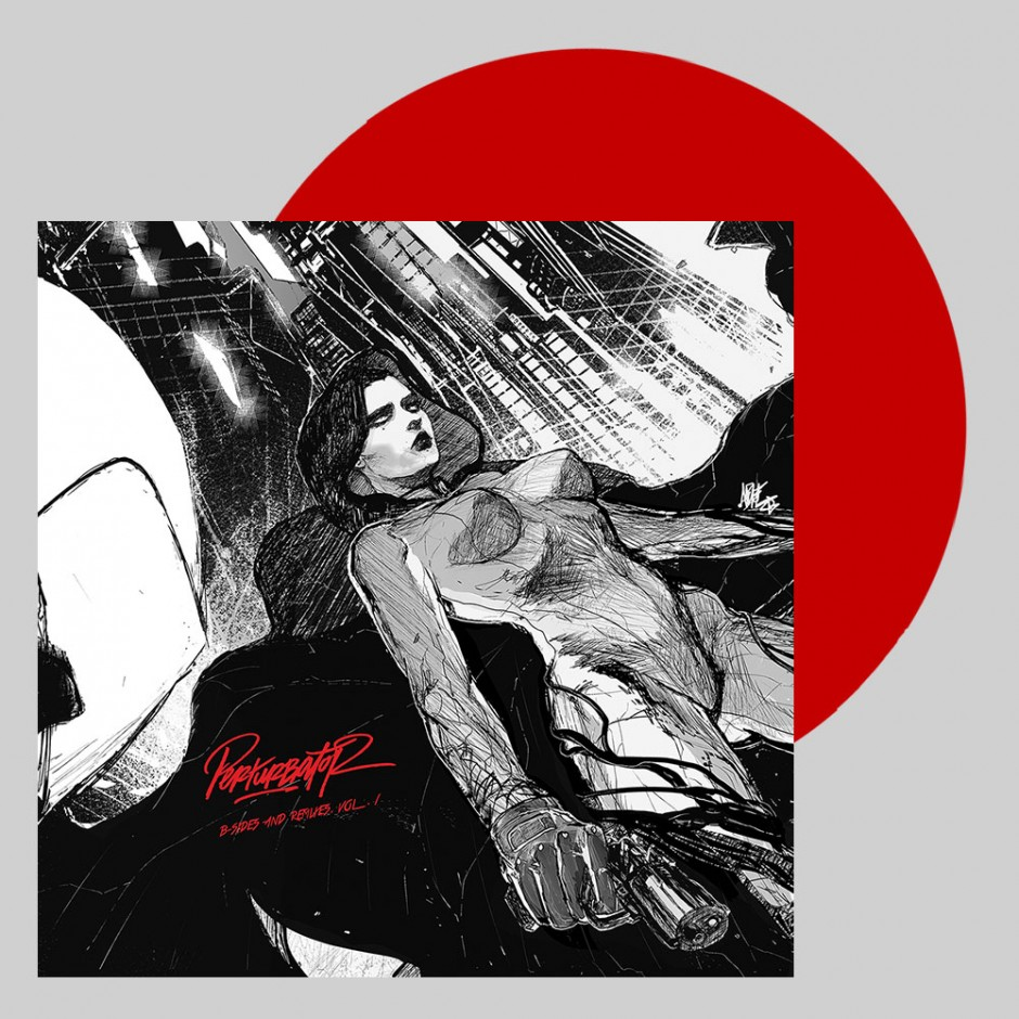 """Perturbator """"B-Sides and Remixes, Vol. I"""" 2xLP"""