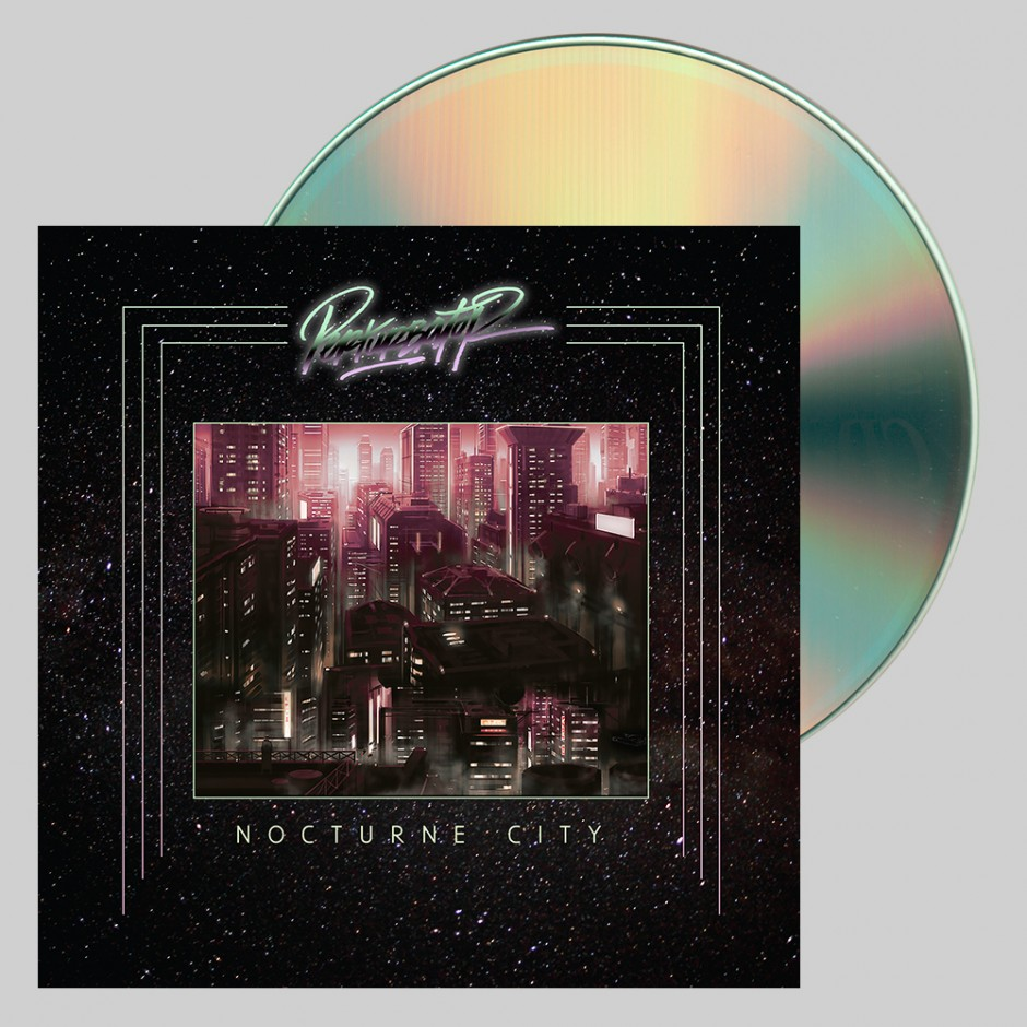 "Perturbator ""Nocturne City"" CD"