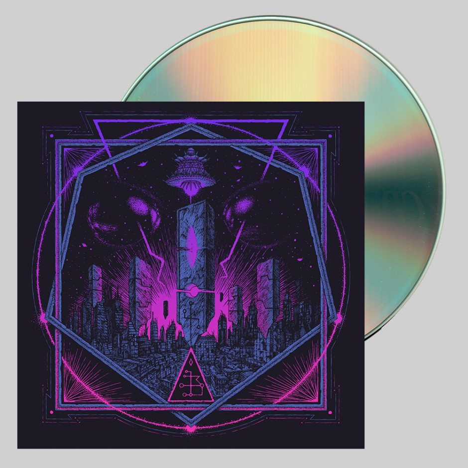 """Hollywood Burns """"The Age of the Saucers"""" CD"""